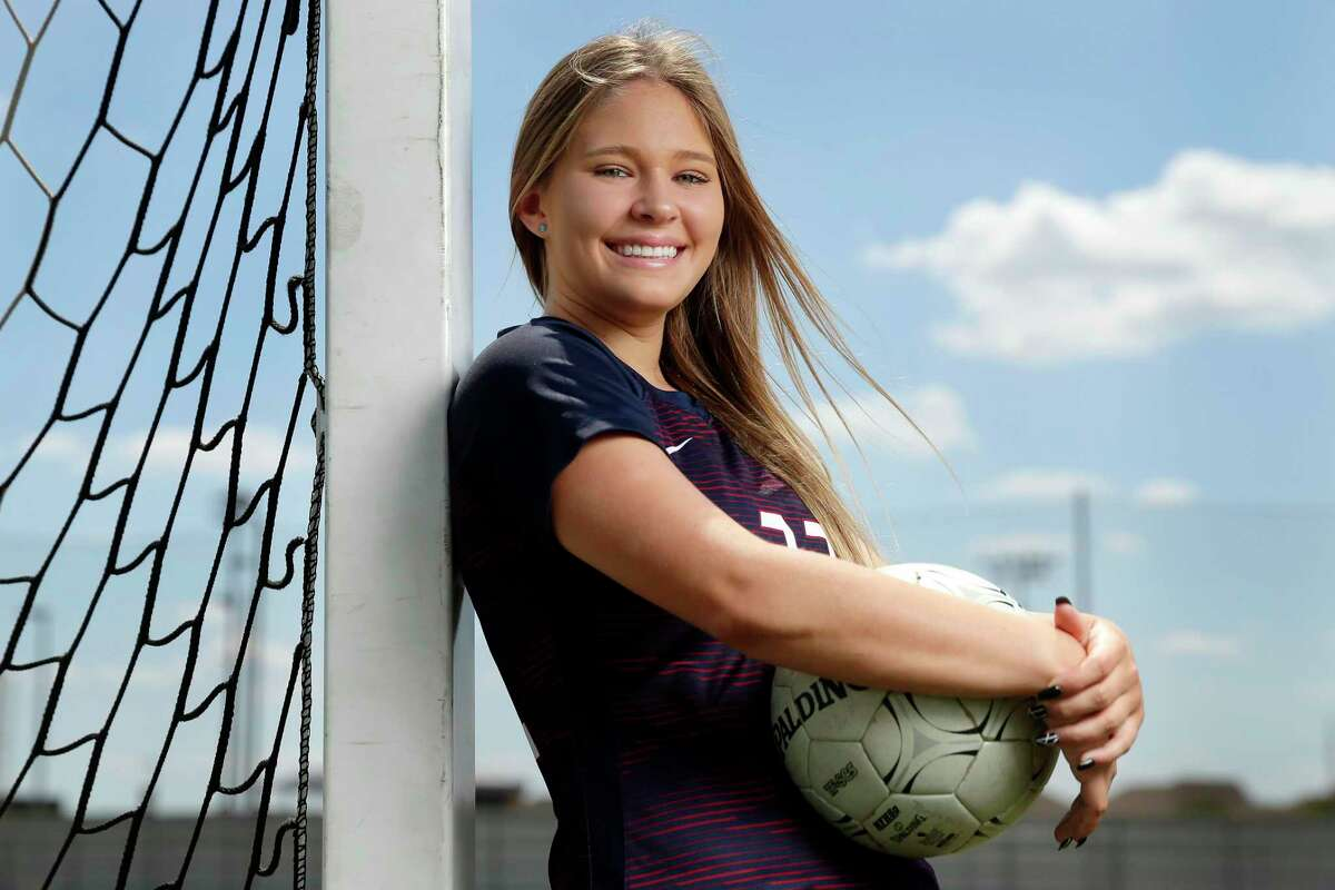 Skylar Parker, the All-Greater Houston girls soccer player of the year from Tompkins.