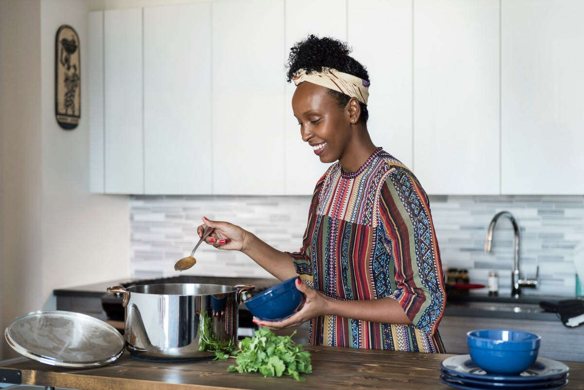 """Hawa Hassan is the CEO of Basbaas Somali Foods, a line of hot sauces and chutneys. Her upcoming cookbook, """"In Bibi's Kitchen,"""" explores recipes and stories of grandmothers from eight African countries that touch the Indian Ocean."""