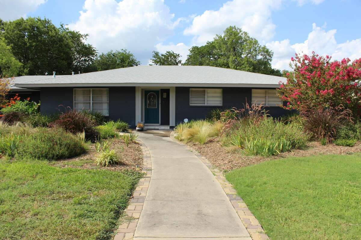 The Blanton's one-story house was built in 1956.