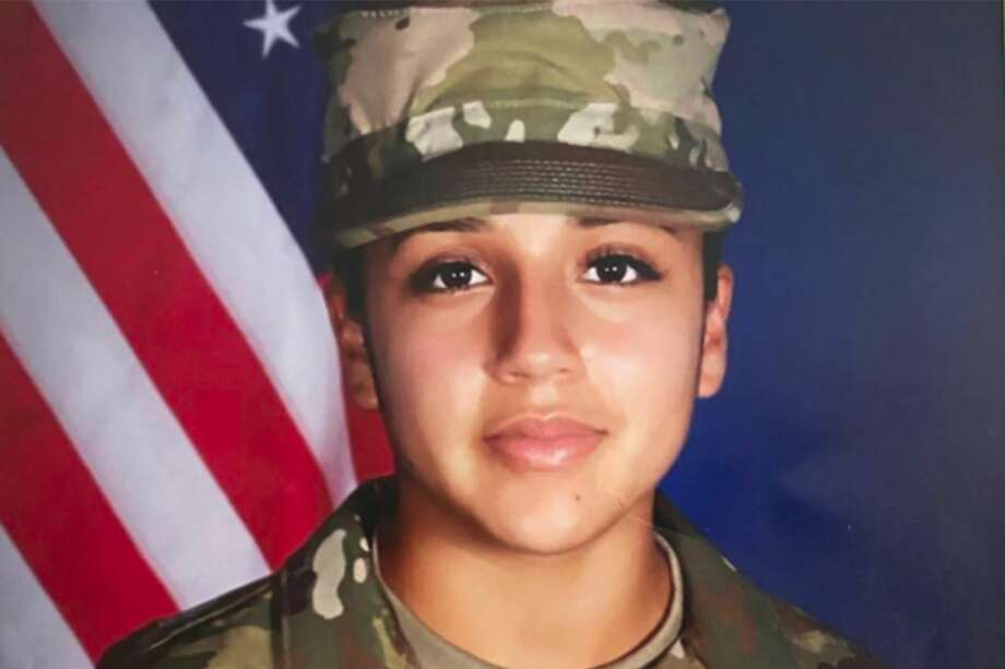 In an undated image provided by the U.S. Army, Army Pfc. Vanessa Guillen, 20, who has been missing from her unit since April 22, 2020. Months after Guillen was last seen, a lawyer for the family said her remains had been found, and the Army announced updates on the case. (U.S. Army via The New York Times) -- FOR EDITORIAL USE ONLY. -- Photo: U.S. ARMY/NYT