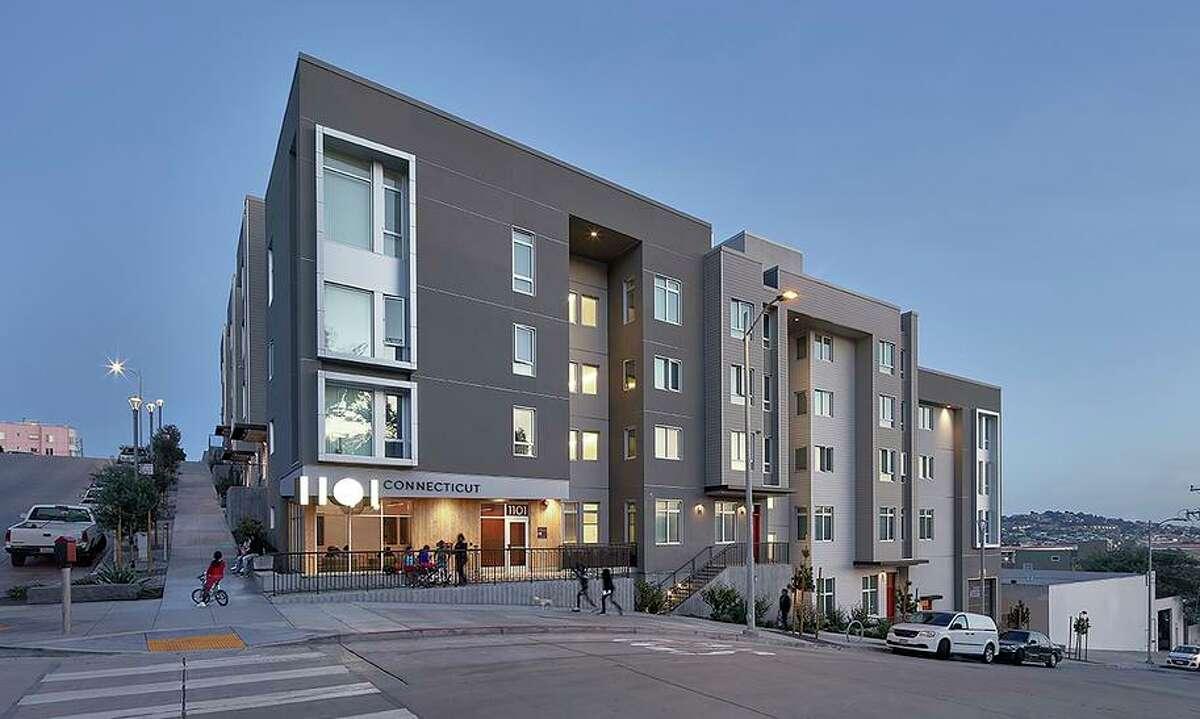 Architect Yakuh Askew, principal of San Francisco's Y.A. Studio, designed this condo building in Potrero Hill.