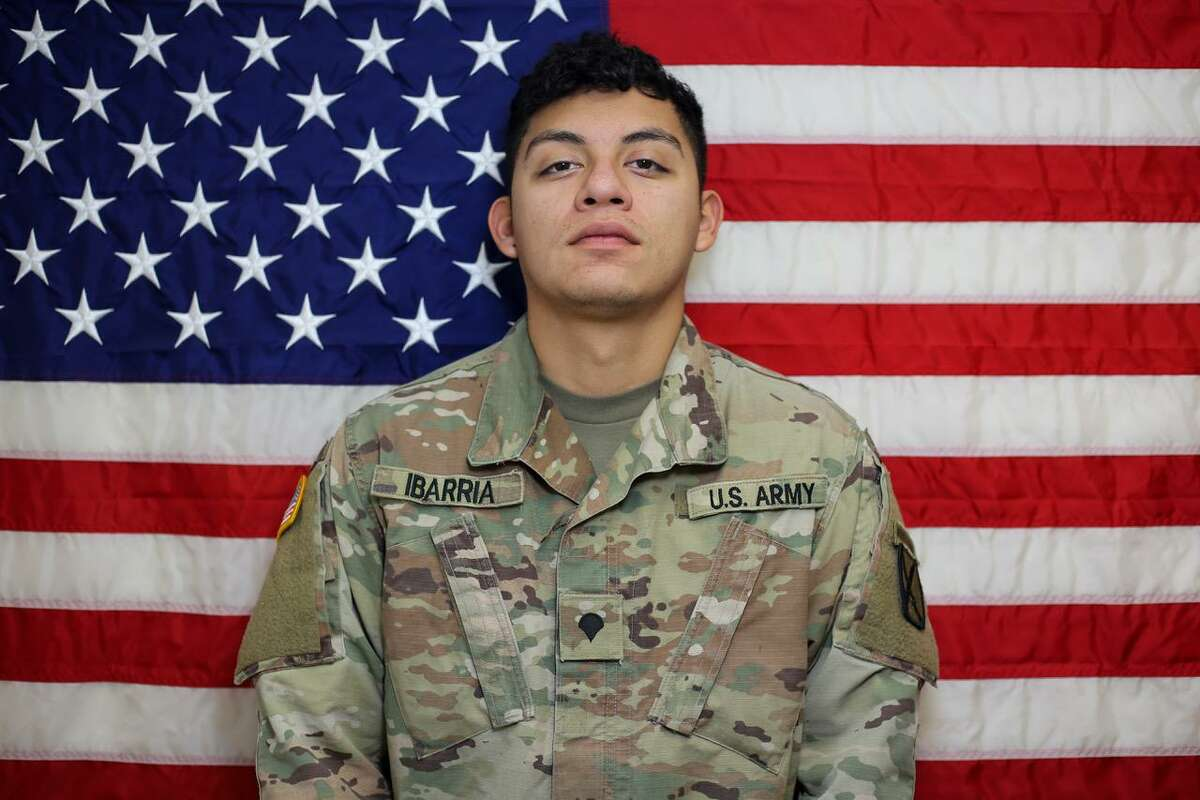 Spc. Vincent Sebastian Ibarria, 21, was the ninth U.S. soldier to die in Afghanistan this year.