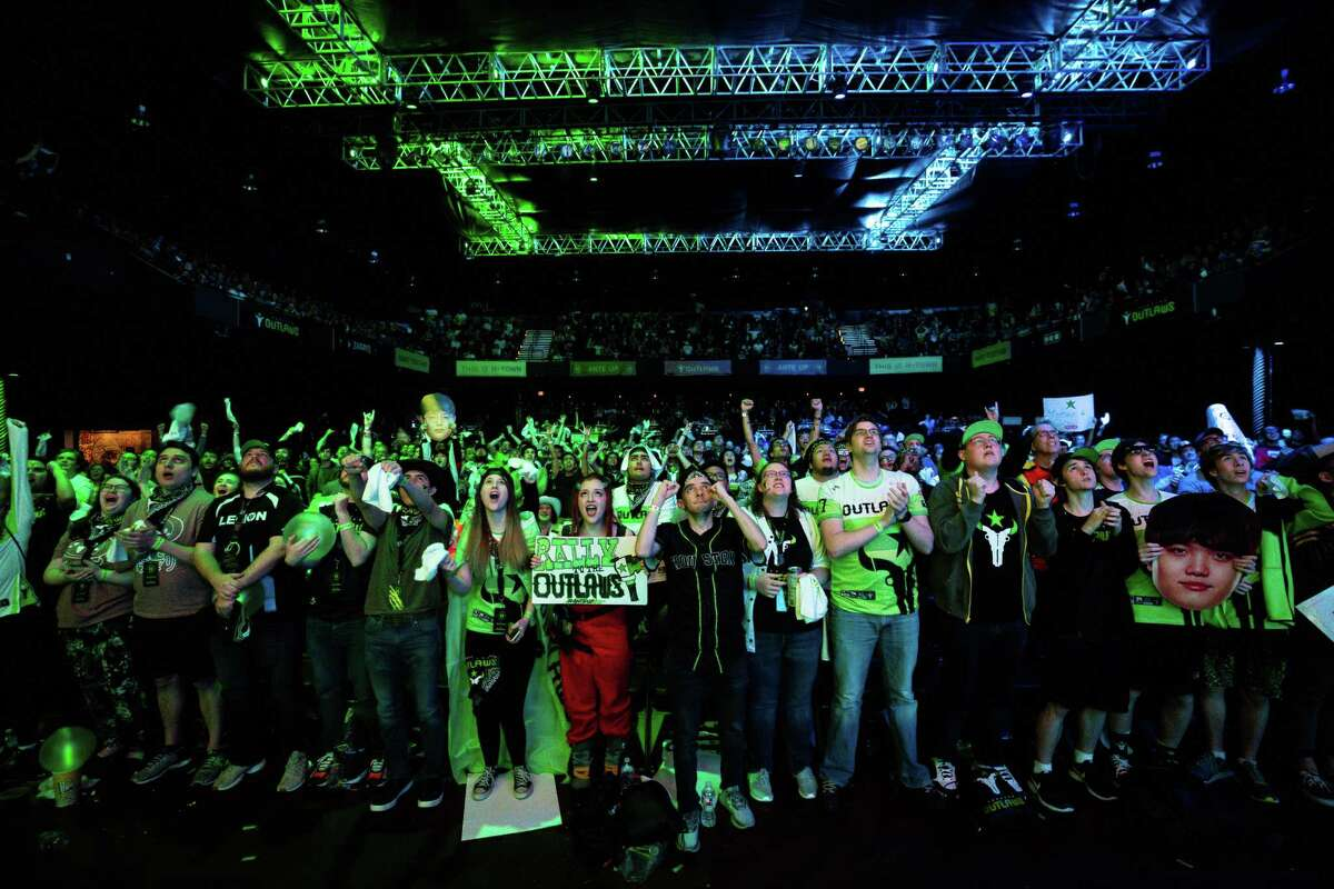 The Houston esports team, the Outlaws sold 2,000 single and two-day passes for its homestand in late February. The team and its league, the Overwatch League, moved matches online in response to the coronavirus pandemic and kept playing.