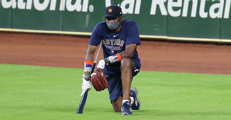 Houston Astros Manager Dusty Baker watches his players during the Astros summer camp Sunday, July 5, 2020, at Minute Maid Park in Houston. Photo: Yi-Chin Lee/Staff Photographer / © 2020 Houston Chronicle