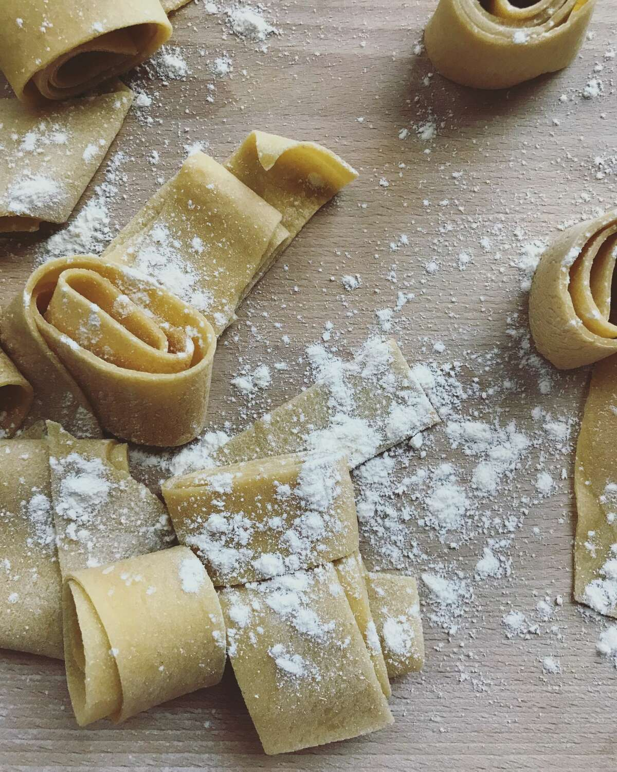 Writer Stephanie Gravalese marks progress in learning how to make 100 pasta shapes via her Instagram page.
