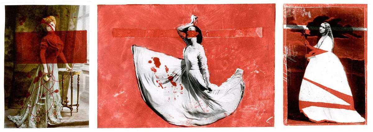 "Skye Curren's ""Trilogy,"" prints."