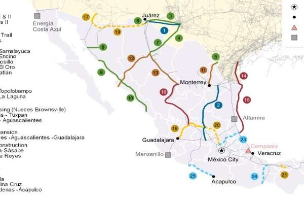 The recent completion of a natural gas pipeline project in Central Mexico is expected to boost exports from the Permian Basin of West Texas.