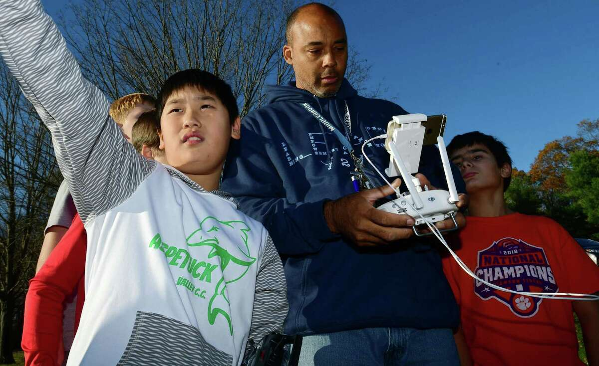 Middlebrook teacher Michael Gordon, who teaches music and advises the school's drone club, has taken on the role of point person for the racial equity and inclusion team for the district.