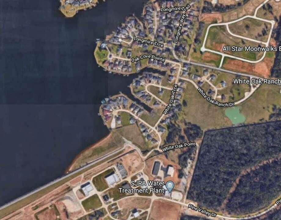 A boy nearly drowned Sunday on Lake Conroe. Photo: Courtesy Of Google Maps