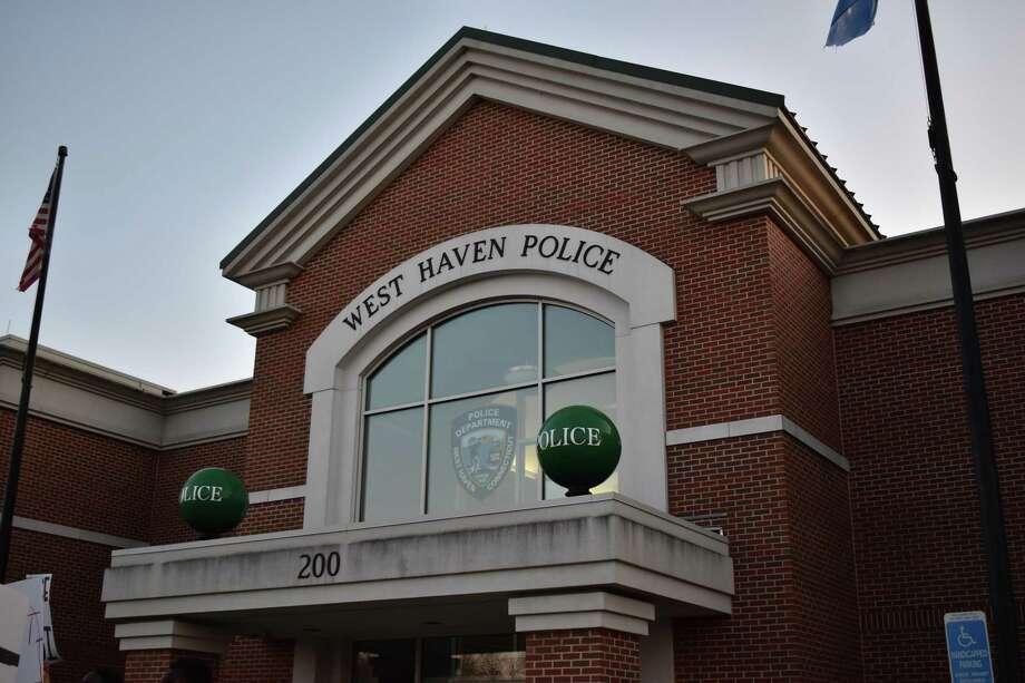 The West Haven Police Department. Photo: Ben Lambert / Hearst Connecticut Media