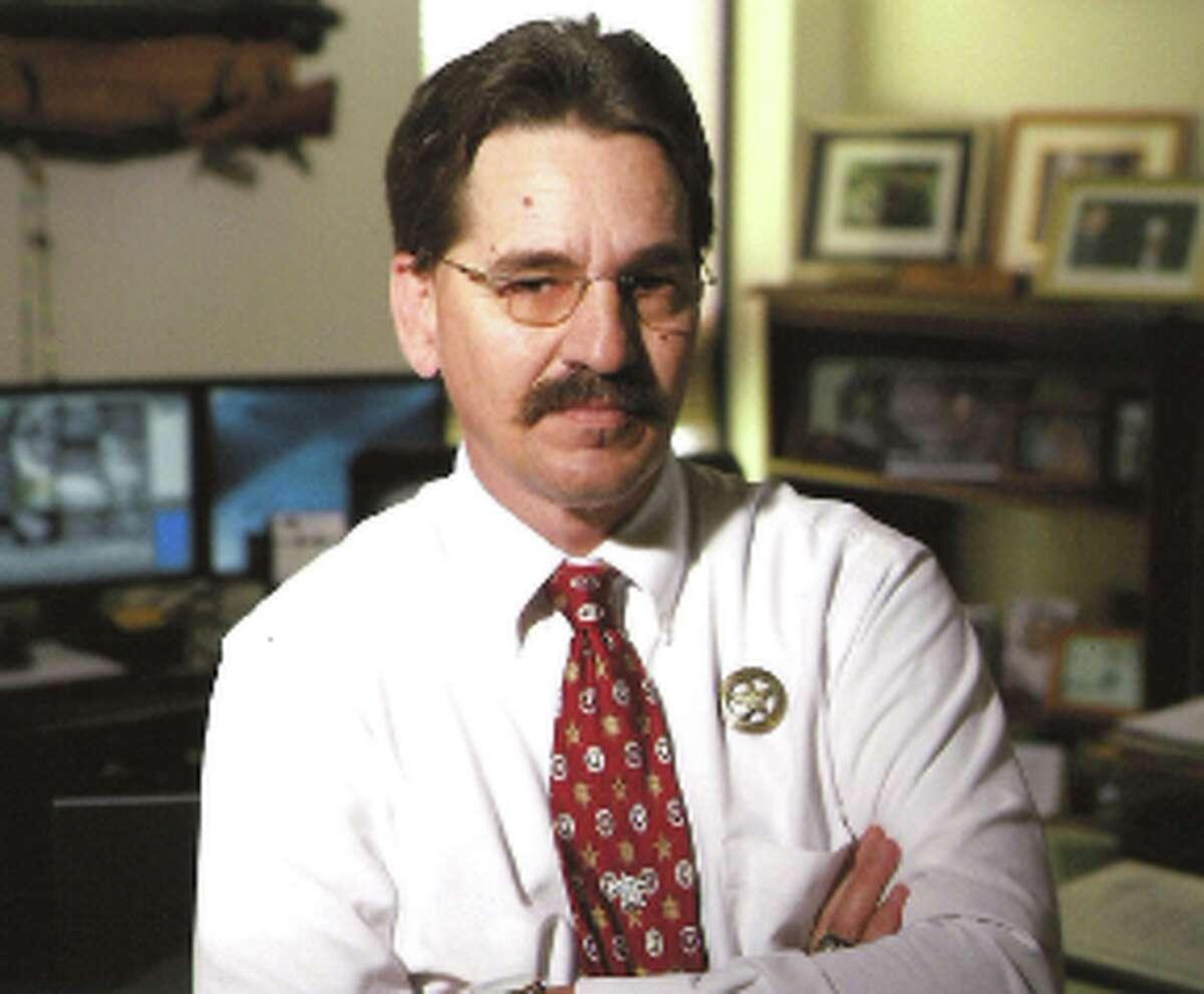 Kerr County Sheriff Rusty Hierholzer.
