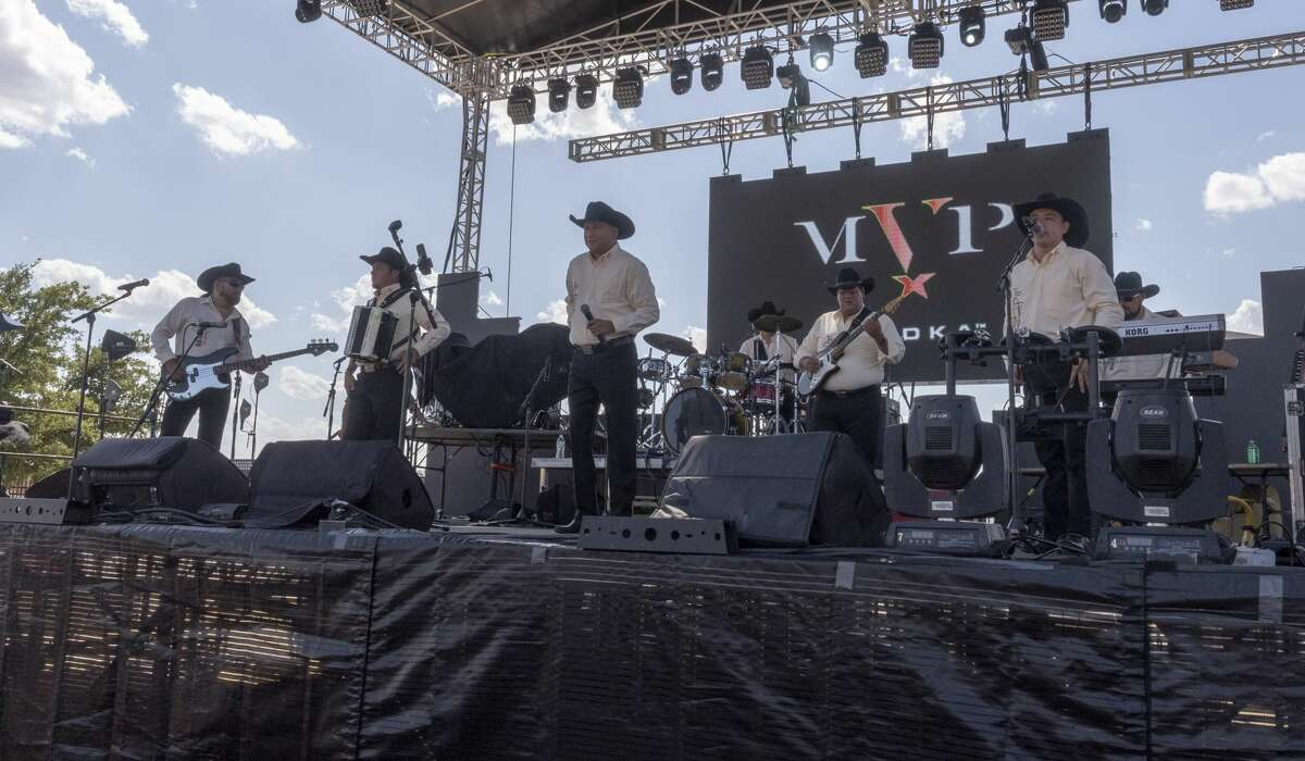 The Monterrey Project performed during the West Texas Blowout on Saturday, July 20, 2019 at Cimarex Energy Pavilion. Jacy Lewis/Reporter-Telegram