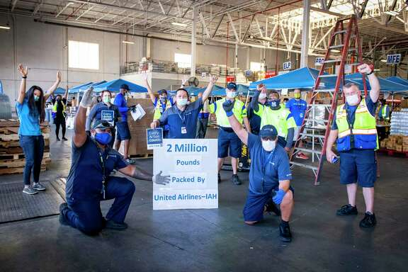 On June 17, 2020, United Airlines employees at George Bush Intercontinental Airport reached 2 million pounds of food distributed for the Houston Food Bank.