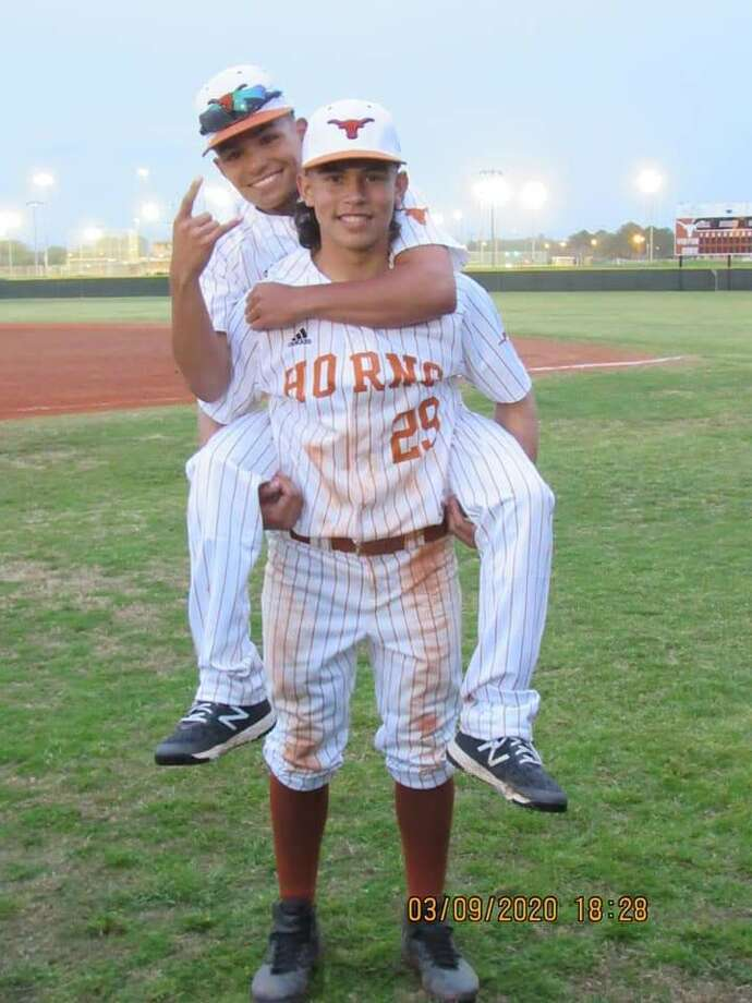 After enduring 16 surgeries, this Dobie High School star athlete, Gabriel Rojas, has emerged strong to recently clinch a prized baseball scholarship at Letourneau University in Longview for Fall 2020. Photo: Gabriel Rojas