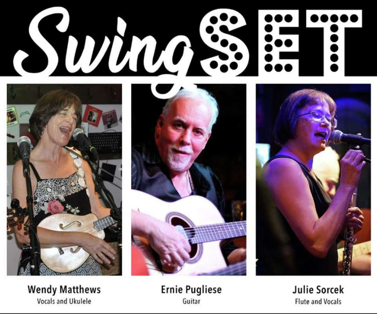 SwingSet will deliver a unique take on swing, jazz and bossa standards outside the JCC in Sherman, Saturday, July 18.