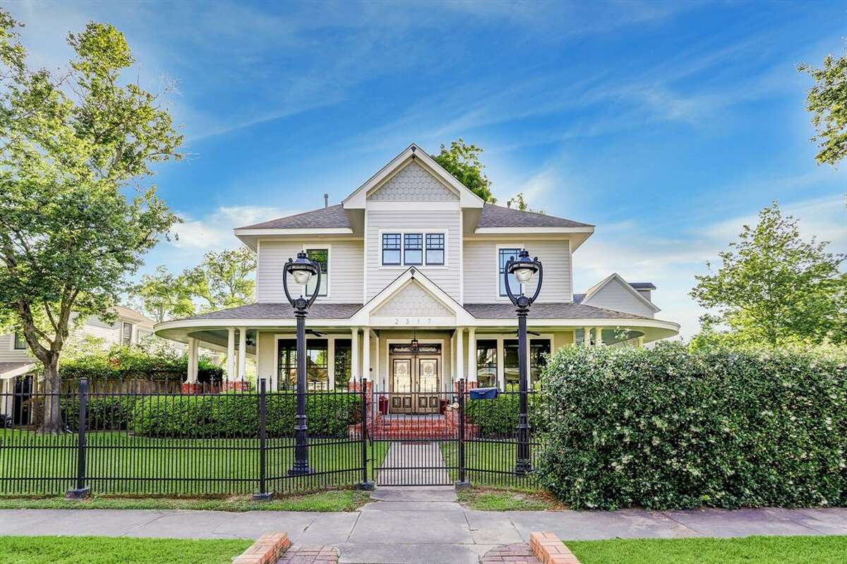 A historic dairy farm, this Heights mansion at 2317 Ashland offers luxurious suites, with 4 bedrooms and 3 bathrooms. This home was built in 1925.