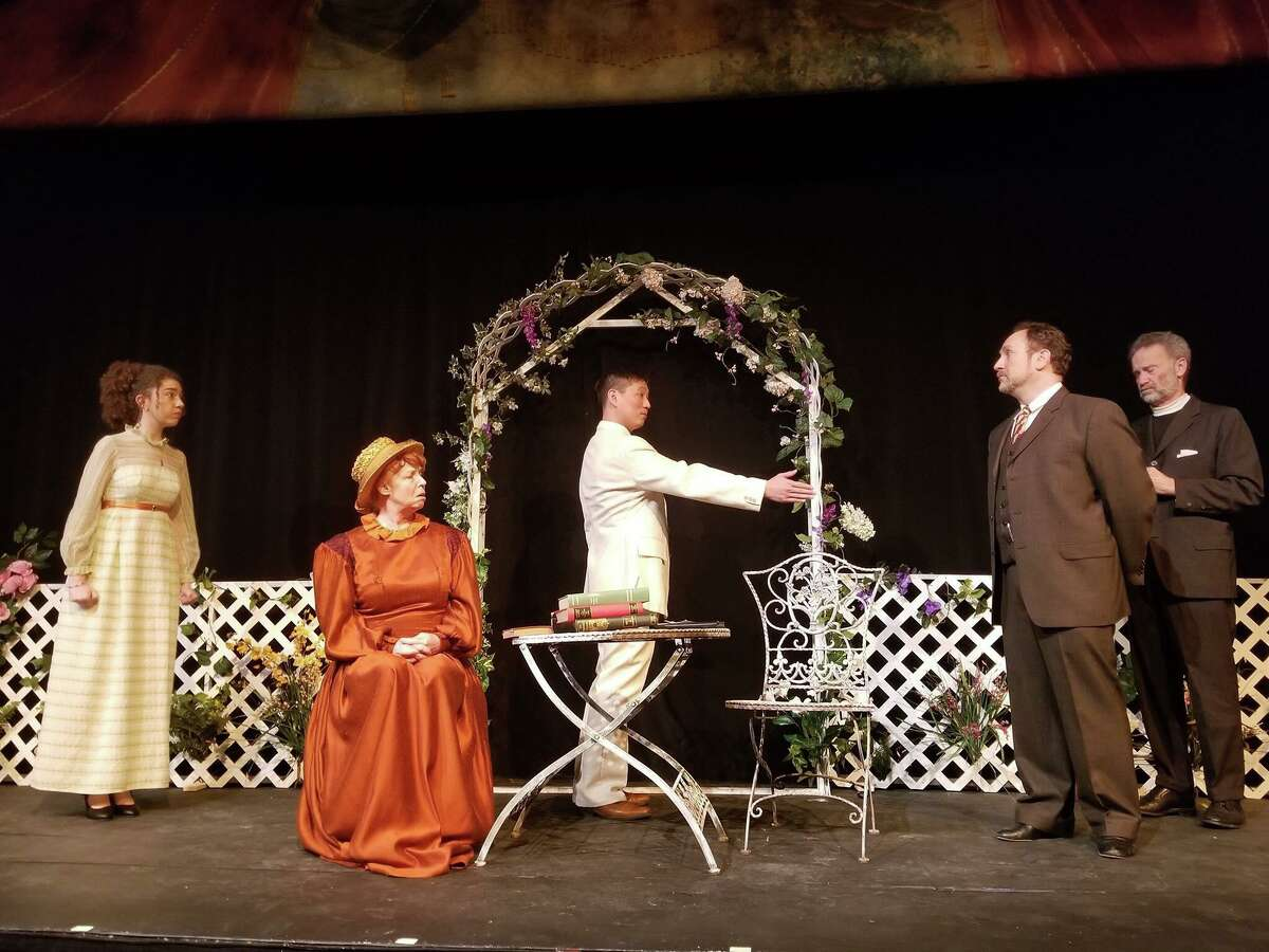 """Torrington's WAPJ radio is presenting old-time radio performances by the Saturn Theater Company. Above, the Goshen Players' performance of Oscar Wilde's """"The Importance of Being Earnest"""" is the first show playing on WAPJ in Torrington."""