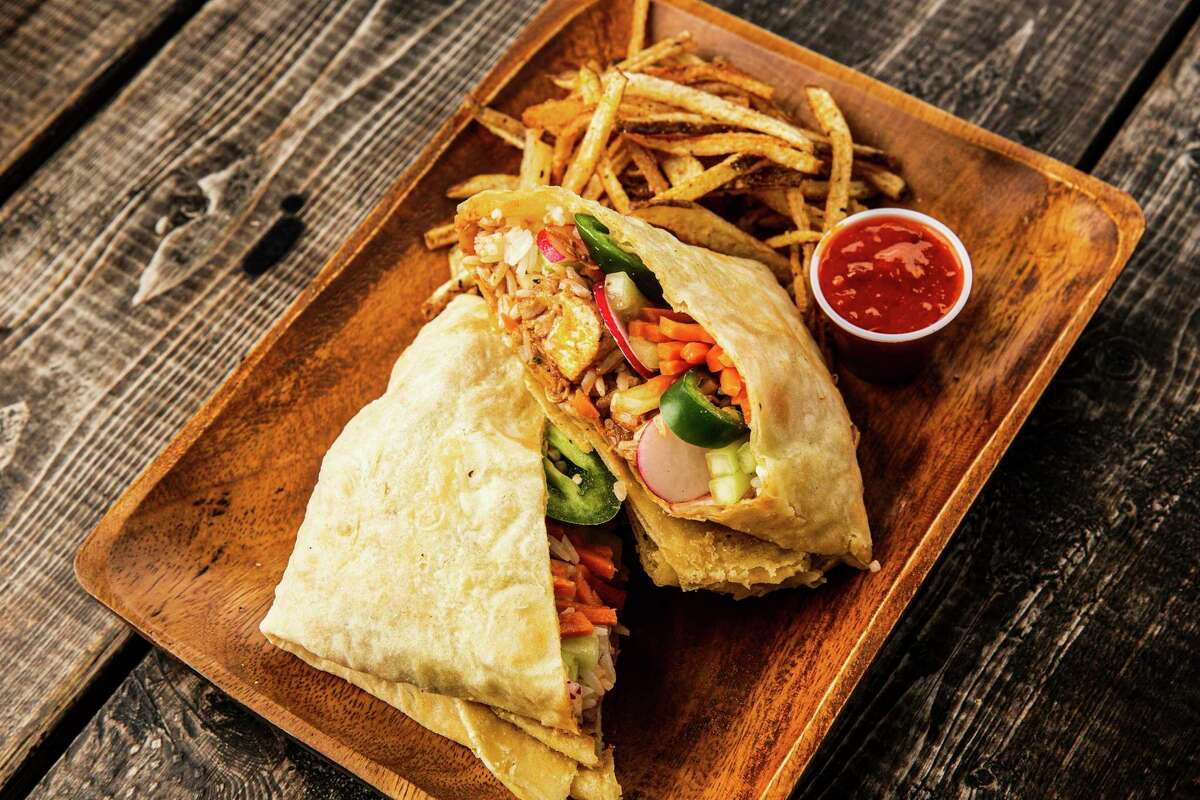 Flatbread wraps called roti will anchor the menu at Mi Roti, a new food vendor at the Pearl's Bottling Department food hall from The Jerk Shack.