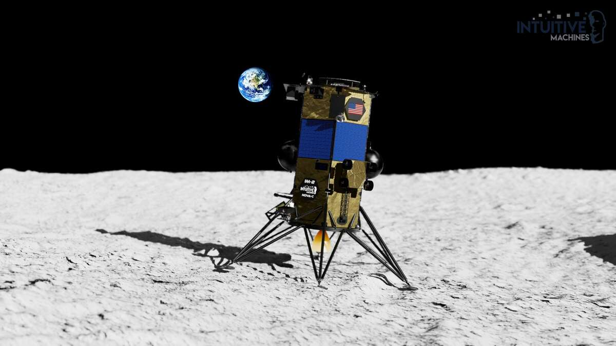 Intuitive Machines' Nova-C Lunar Lander is set to land in the Oceanus Procellarum, a scientifically intriguing dark spot on the moon, in October 2021.