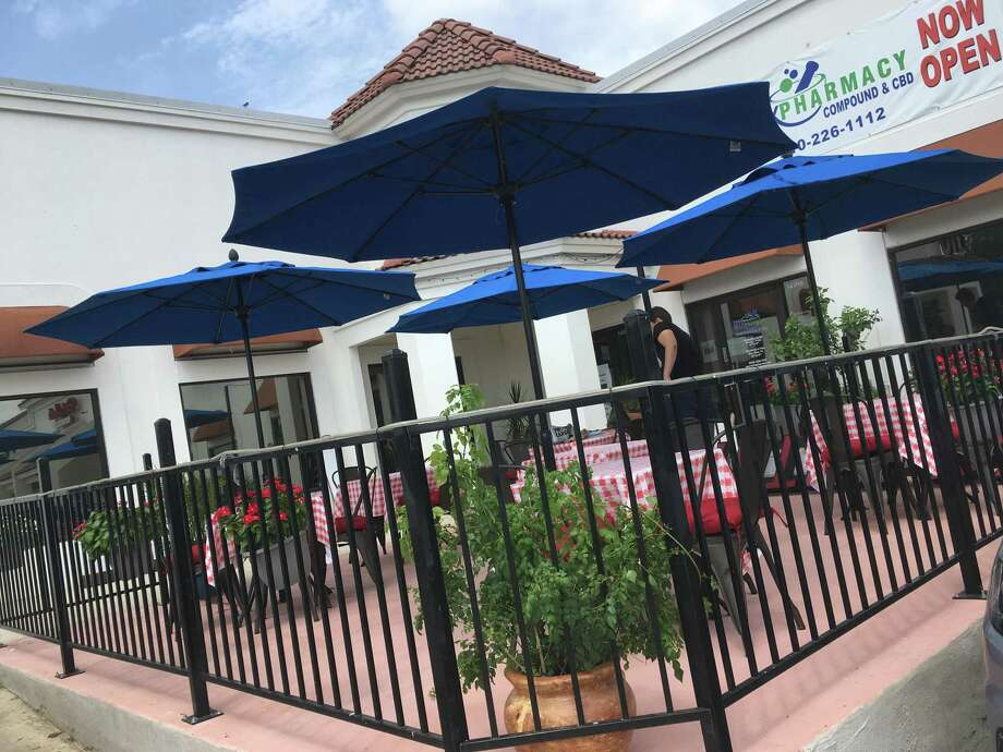 La Nostra Famiglia Trattoria is set to open soon on Blanco Road near the intersection of Bitters Road. Photo: Chuck Blount /Staff
