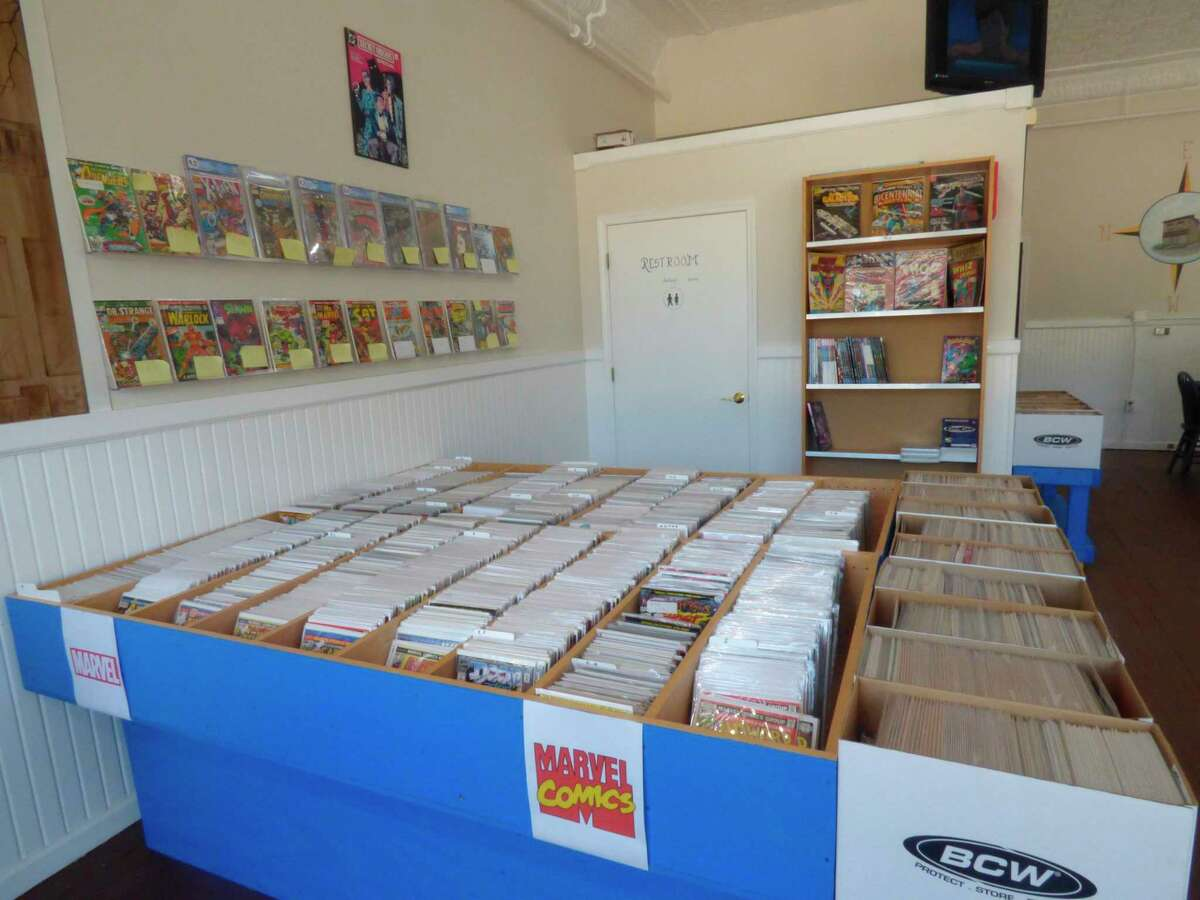 Rebel's Sanctuaryopened June 24 in Manistee. The comic books shop offers single issue comics and trade paperbacks. (Scott Fraley/News Advocate)