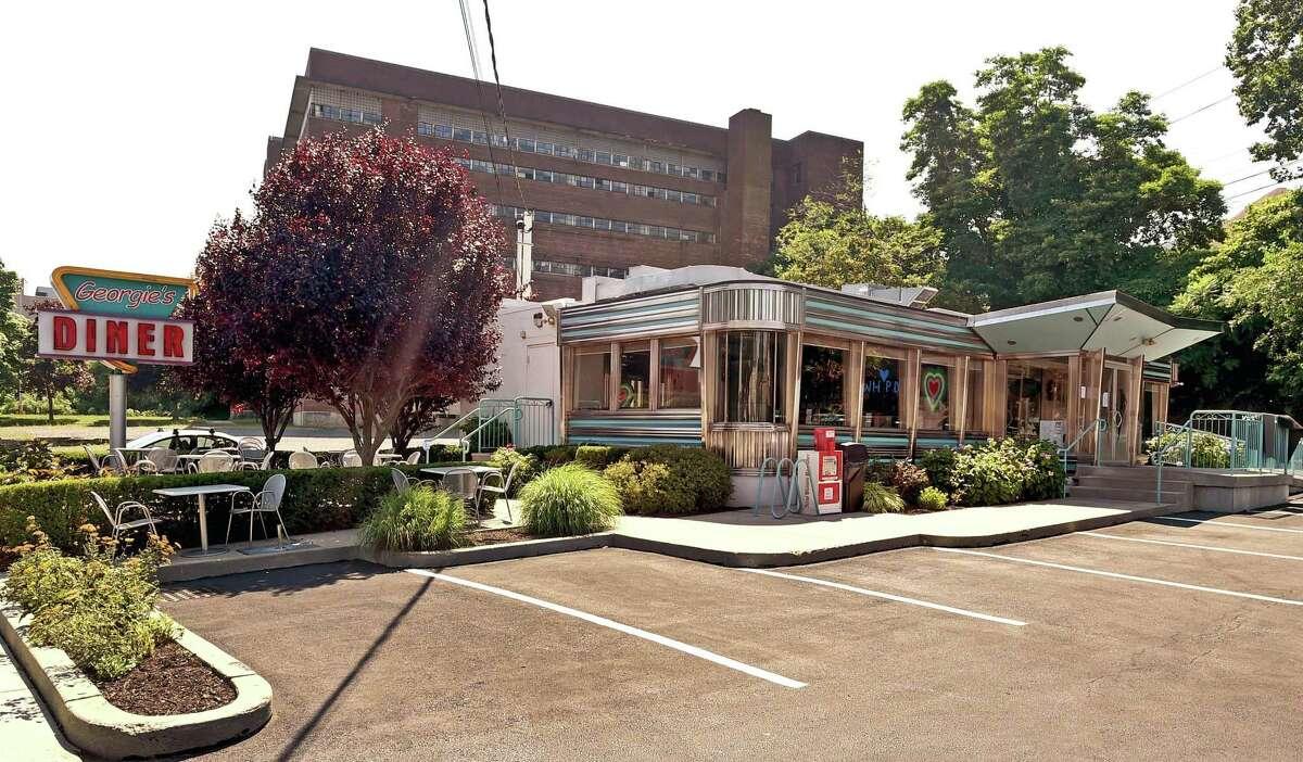 Georgie's Diner on Elm Street in West Haven