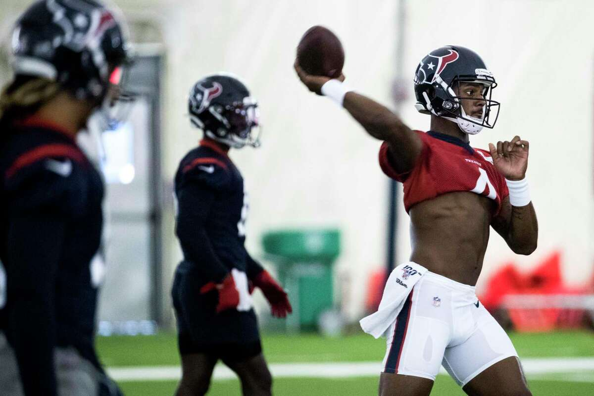 Before Deshaun Watson and the Texans can start training camp, the NFL has several questions pending.