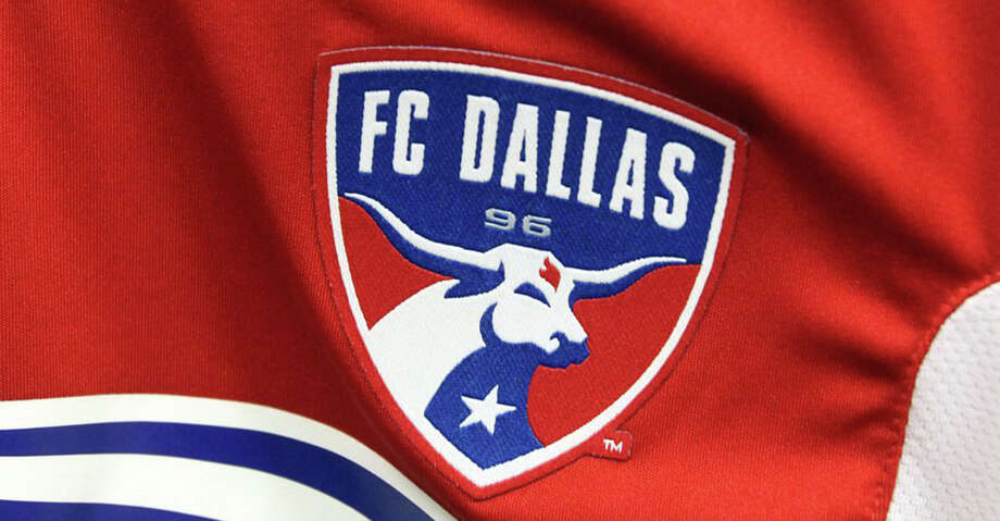 The FC Dallas team logo is pictured above on a game jersey on Thursday, July 4, 2013. (Louis DeLuca/Dallas Morning News/TNS) Photo: Louis DeLuca/TNS