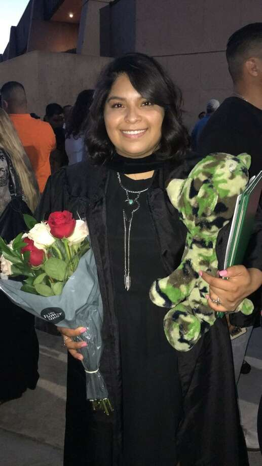 """When Mayra Garcia was a student in Midland College's Associate of Applied Teaching program in 2016, she did her field observation course at a second-grade class at what was then Crockett Elementary School. """"That's when I knew that my job is to open doors for them, and teaching is my calling."""" Photo: Courtesy Photo"""