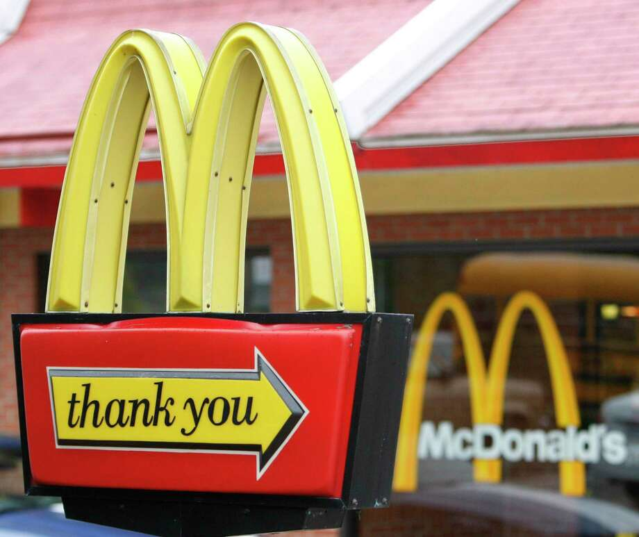 Business columnist Randy Diamond found that during the COVID era, McDonald's was able to hold its own against hotel dining options. Photo: Associated Press File Photo / AP