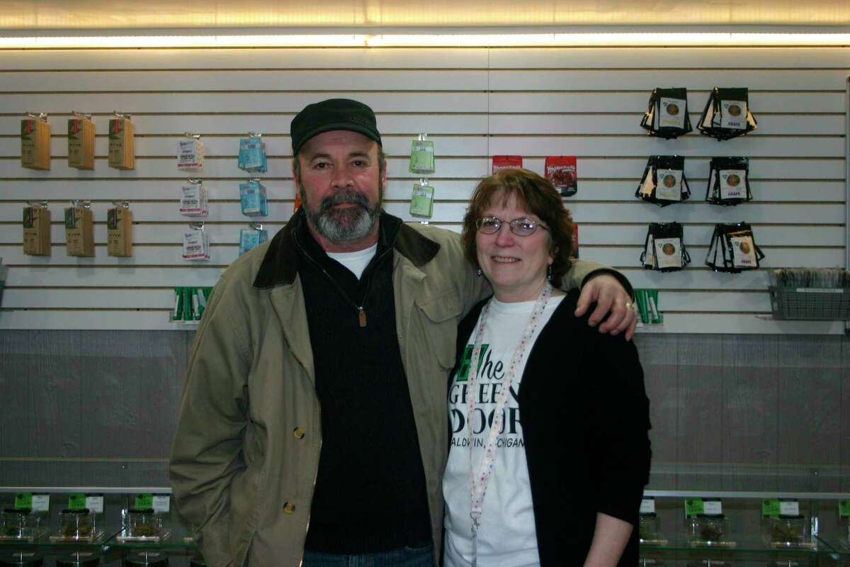 Steve and Audrey Dominique, owners of Green Door Baldwin, have now received the final approval from Pleasant Plains Township for the retail sale of recreational adult use marijuana products. The store began recreational sales two weeks ago. (Star file photo)