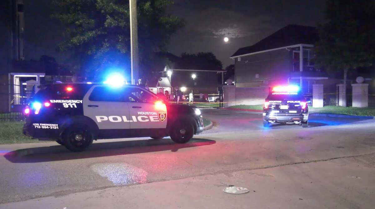 Houston police investigate a shooting in the 600 block of Berry Road on Monday, July 6, 2020.