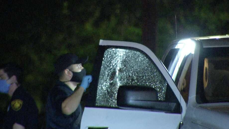 A woman was taken to the hospital Monday night, July 7, 2020, after a road rage incident in a Jack-in-the-Box parking lot ended with a shooting, San Antonio police said. Photo: Ken Branca