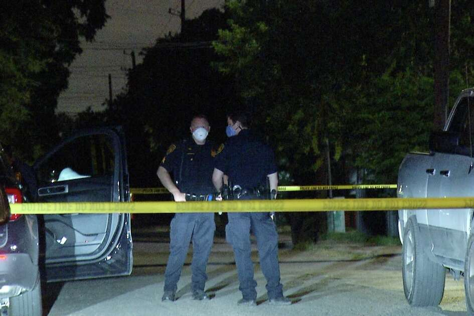 A woman was taken to the hospital Monday night after a road rage incident in a Jack-in-the-Box parking lot ended with a shooting, San Antonio police said.