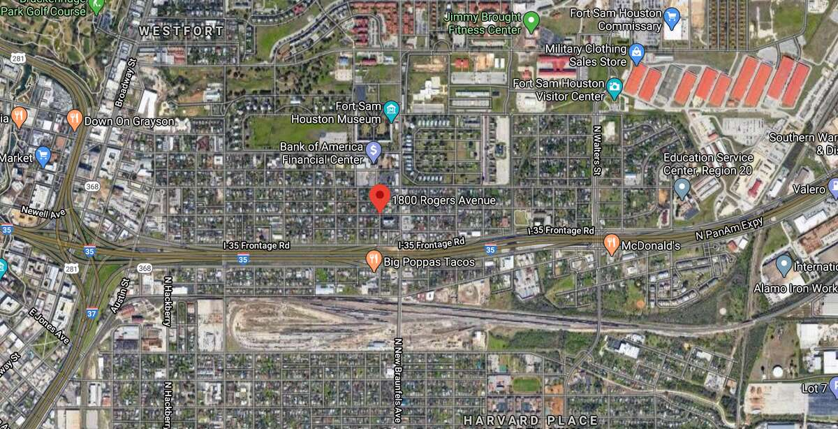 A 39-year-old man was arrested in connection with a deadly shooting during a child exchange Monday on the Northeast Side. The map shows the approximate location of the shooting.