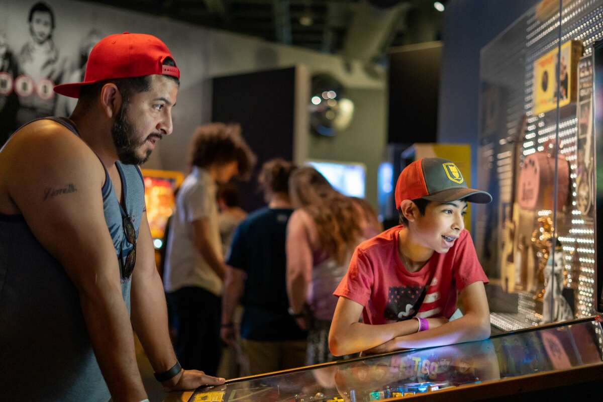The interactive Rock & Roll Hall of Fame exhibit