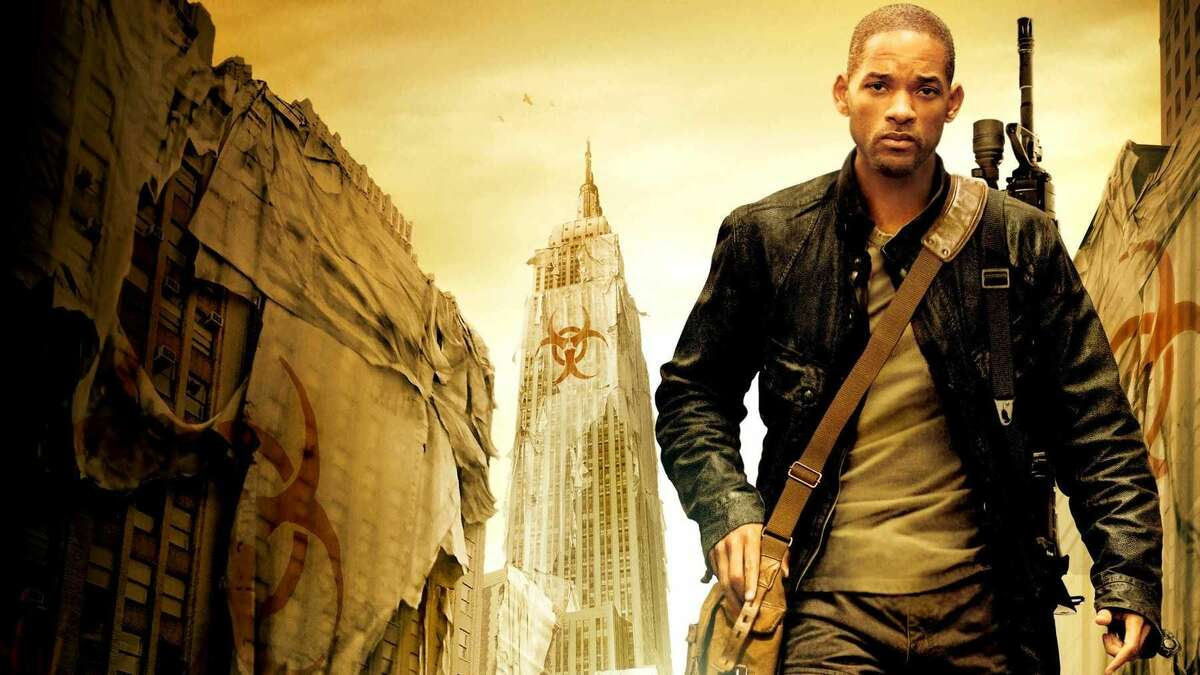 """Will Smith plays the last man alive in a world wiped out by a vicious disease that turns people into vampire-like creatures in 2007's """"I Am Legend."""""""