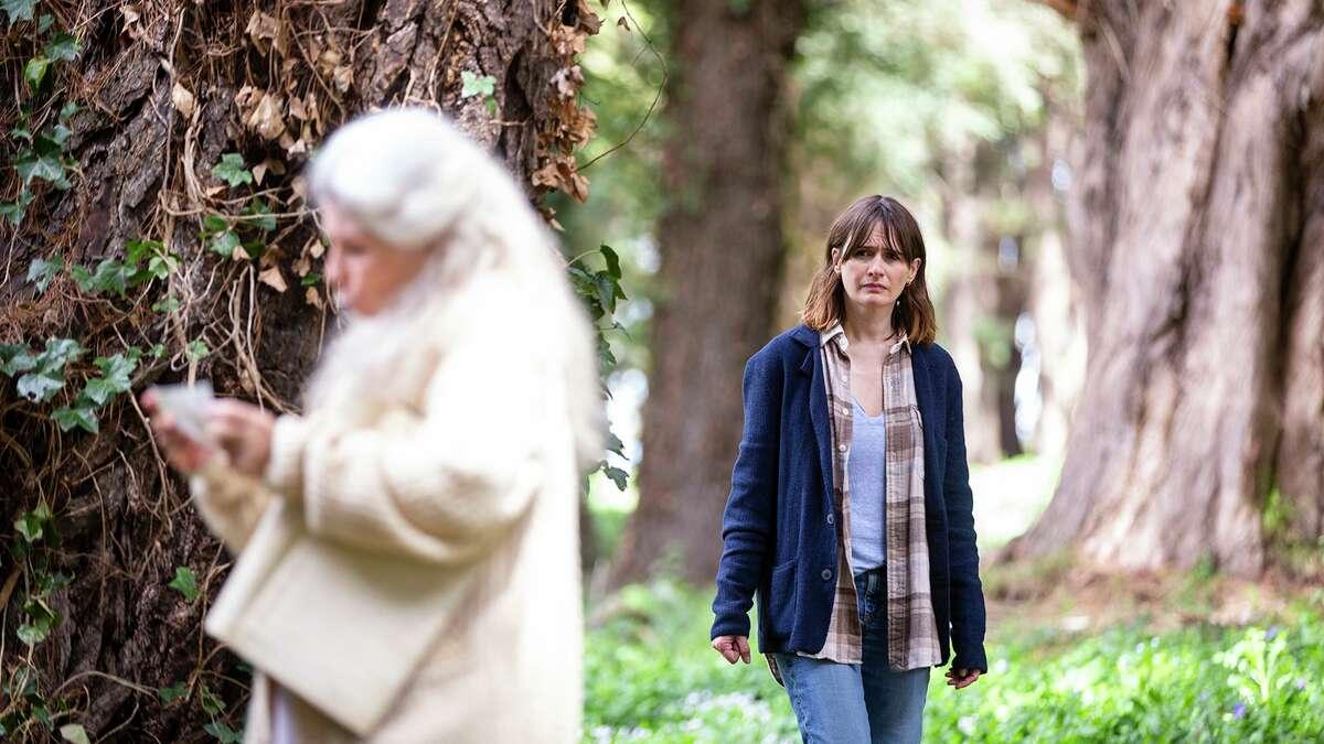 """Robyn Nevin(left) andEmily Mortimer stars in """"Relic,"""" an Australian horror film directed byNatalie Erika James."""