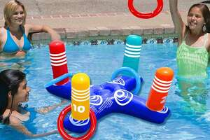 Inflatable Pool Ring Toss Pool Game Toys   Price: $19.99
