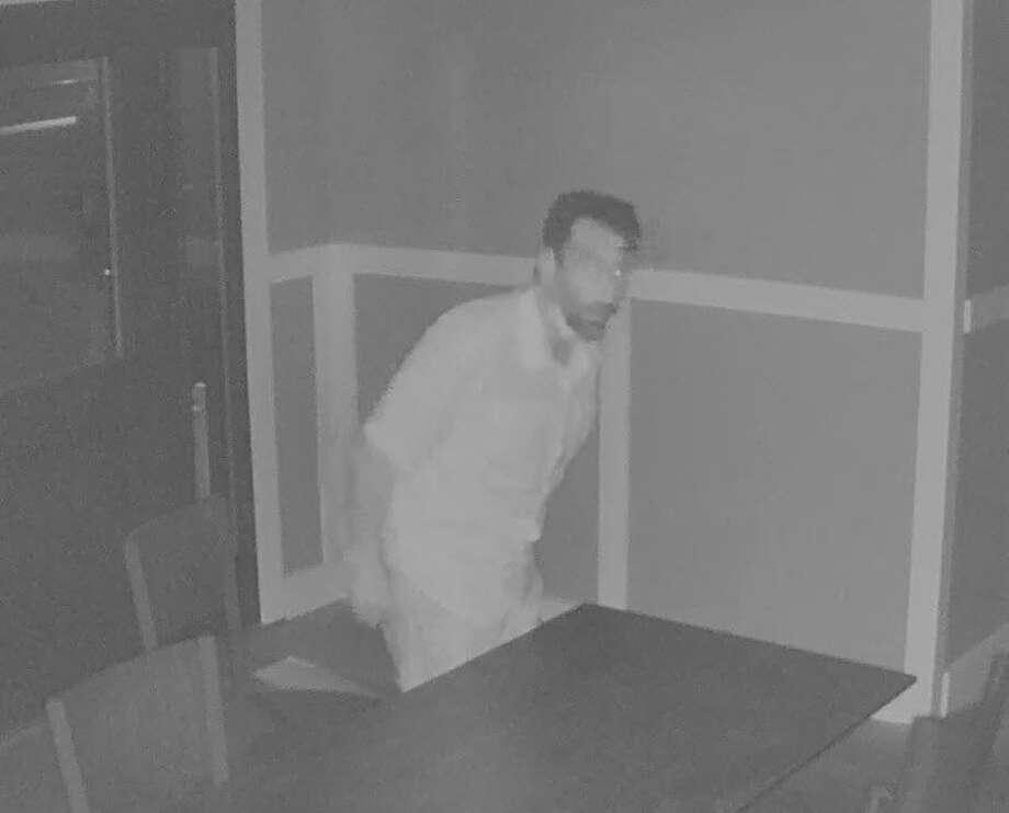 Milford Police are seeking the identity of this suspect in a burglary at Founders House early on Wednesday, July 1. Photo: Contributed Photo / Milford Police / Milford Mirror Contributed