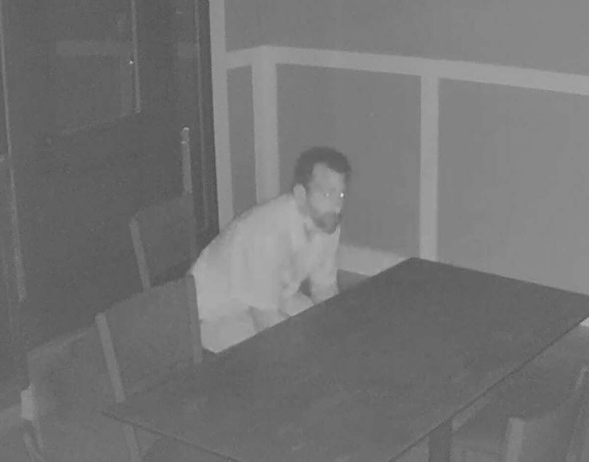 Milford Police are seeking the identity of this suspect in a burglary at Founders House early on Wednesday, July 1.