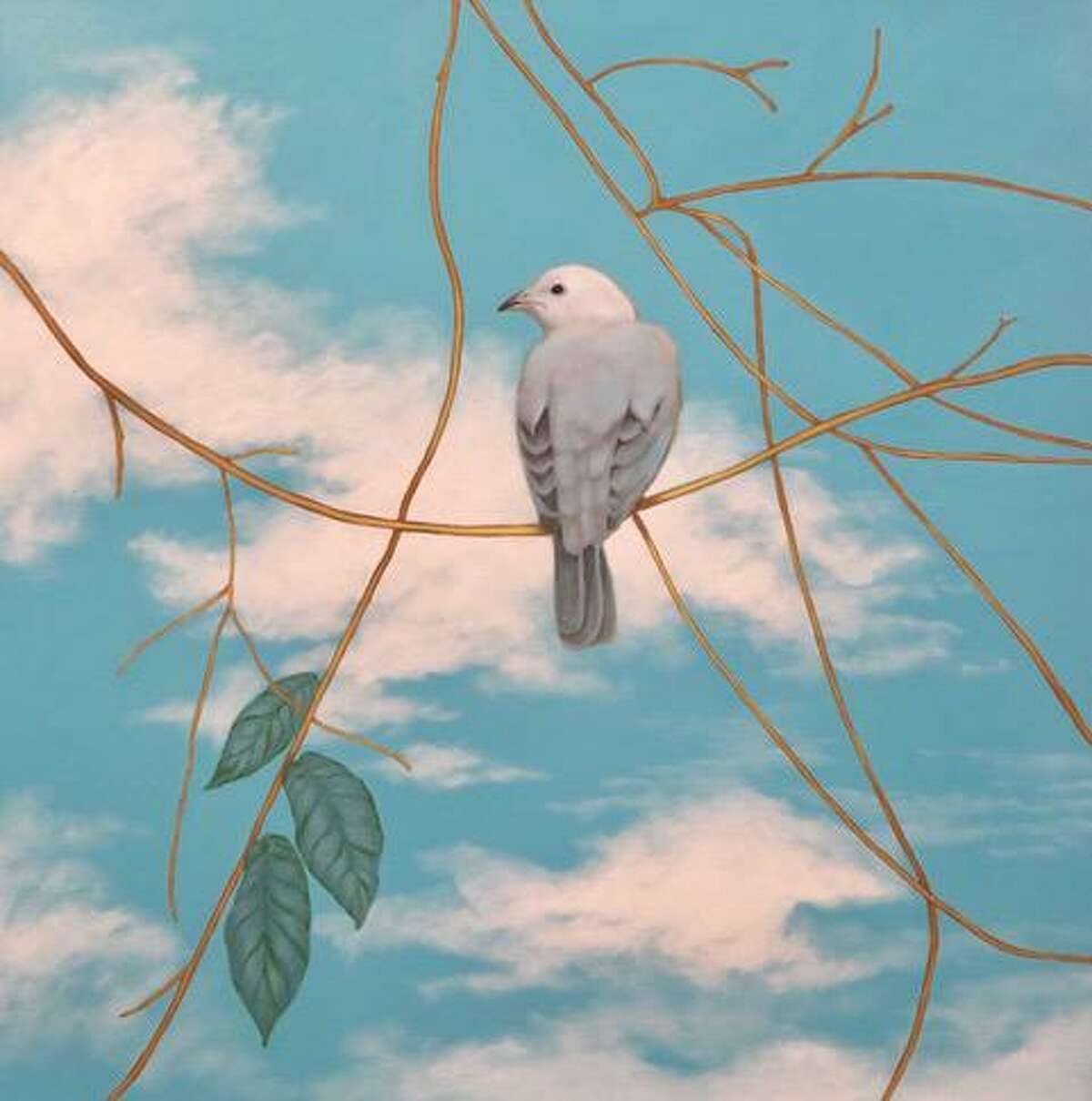 Redding artist Erin Nazarro submitted her painting