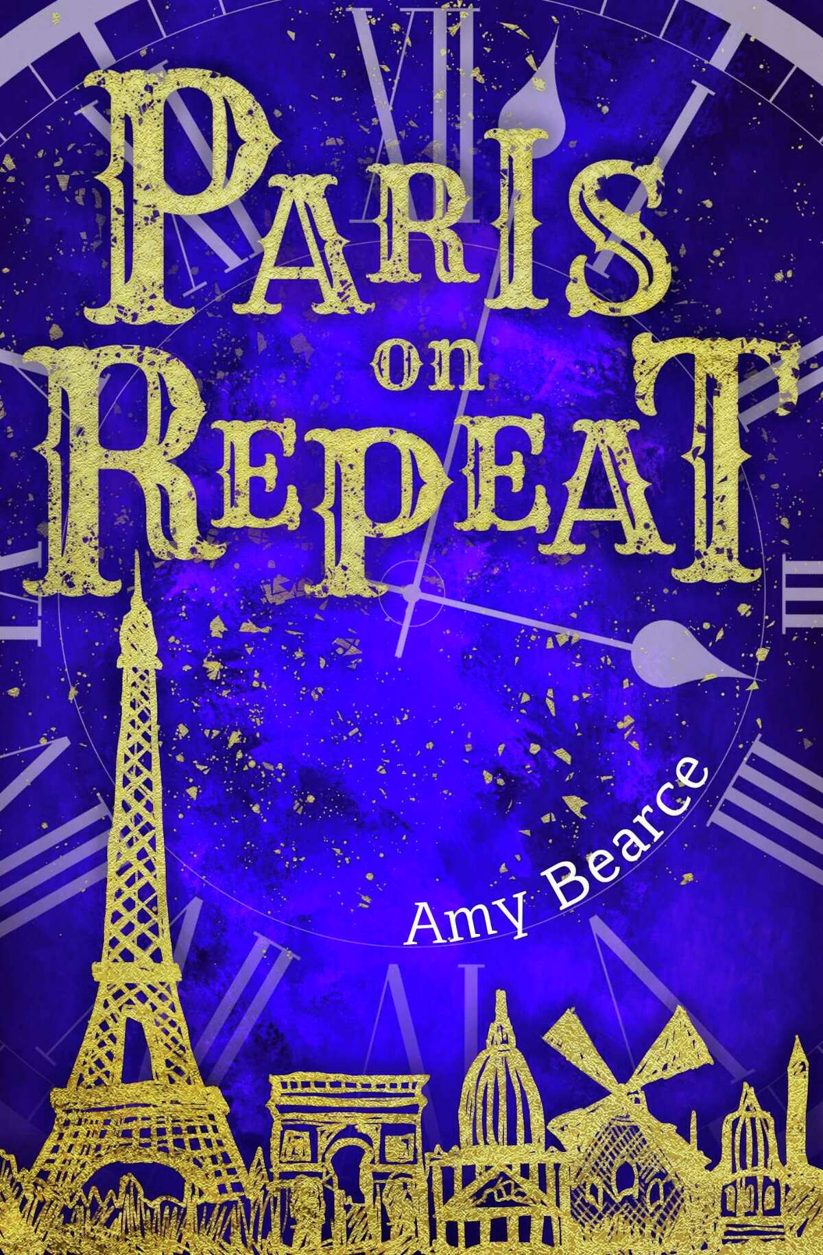 "San Antonio-based writer Amy Bearce's new book is ""Paris on Repeat."""