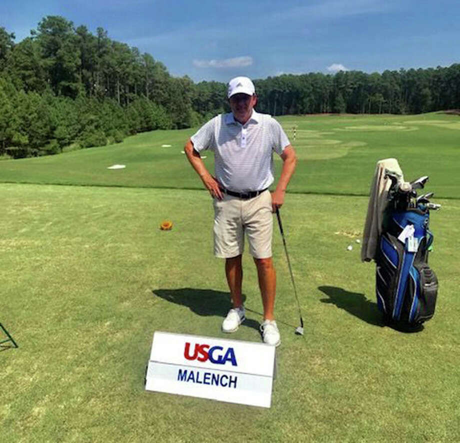 Edwardsville graduate Joe Malench at the 2019 USGA Senior Amateur in Durham, North Carolina. Photo: For The Intelligencer