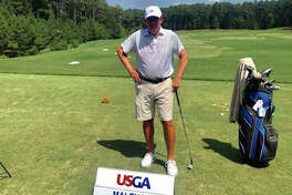 Edwardsville graduate Joe Malench at the 2019 USGA Senior Amateur in Durham, North Carolina.