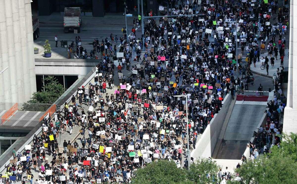 George Floyd protest, June 2, 2020