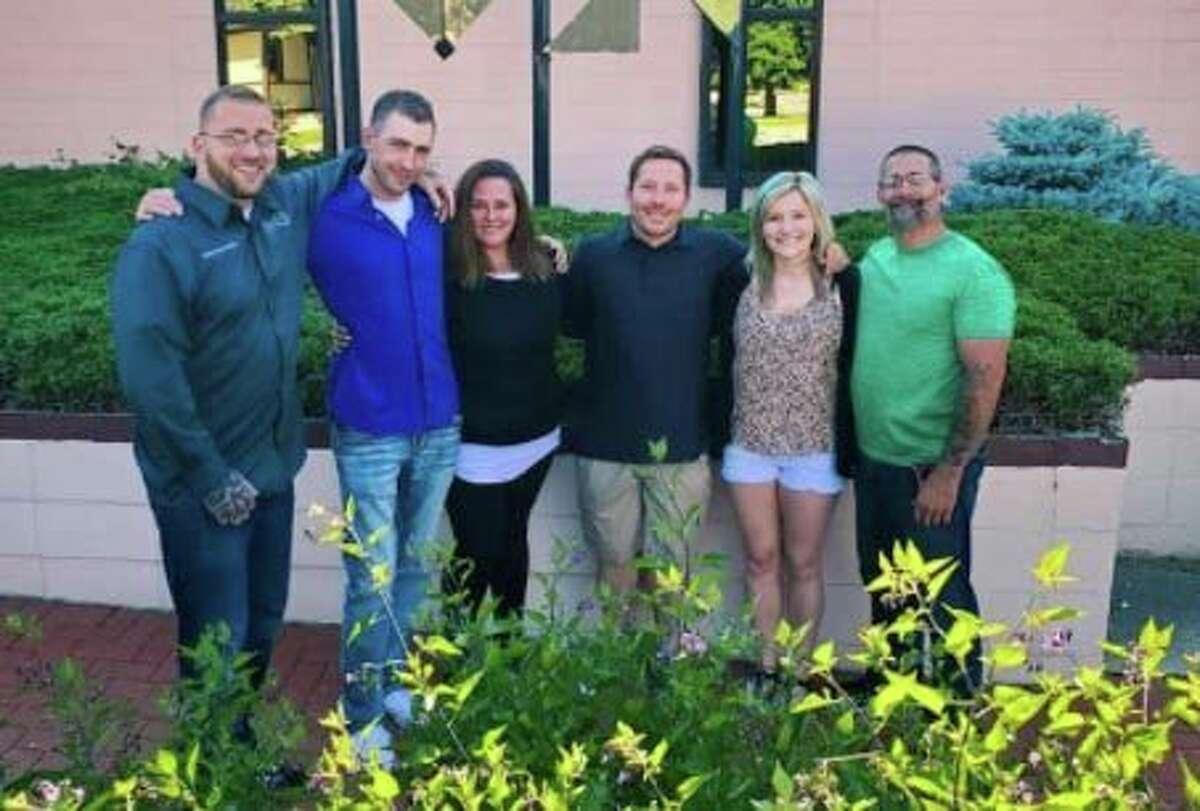 From left, Advisory Board of Midland Recovery Centermembers Joel Hensel, Tim Turner, Ashley Endline, Charlie London, Jordan Wilcox, Buddy Yancer. (Photo provided)