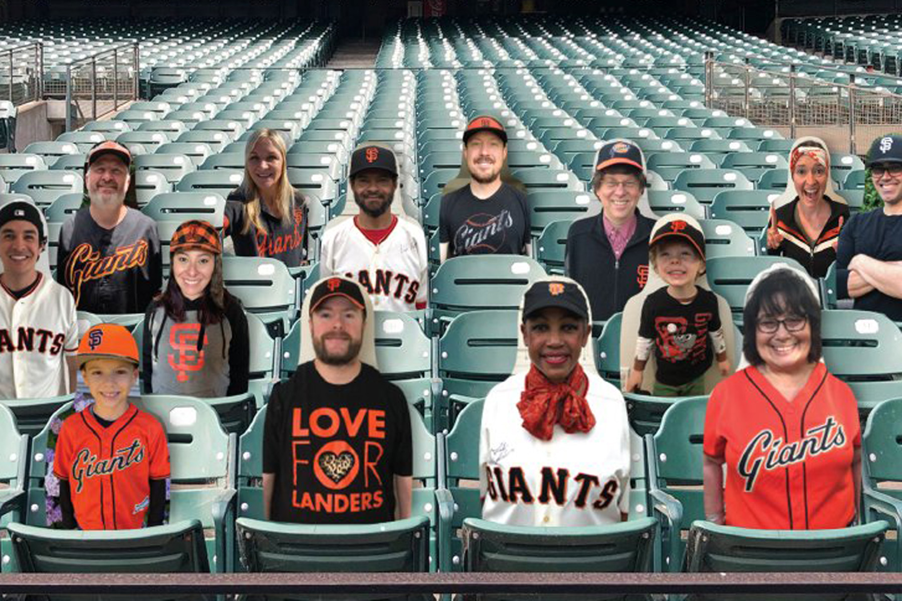 Photo of Want to sit next to a celebrity at an SF Giants game this year? Your fan cutout can