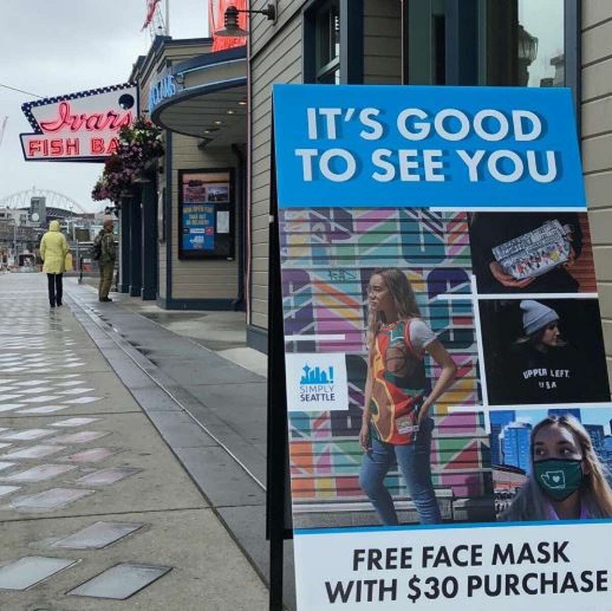 Under Phase 2 of Gov. Jay Inslee's Safe Start Washington plan, Simply Seattle was able to reopen their brick-and-mortar locations in the city after over three months of being closed. But without the foot traffic of visitors, the stores have seen sales drastically decrease.