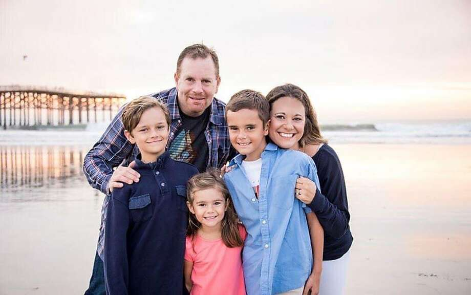 Ari Gershman, with his wife and three kids in this family photo, was shot to death Friday while on an off-roading trip with his son. Photo: Courtesy Of Marlo Meyers-Barer /
